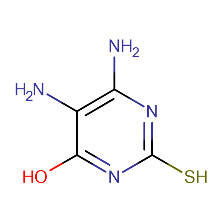 5,6-Diamino-2-thioxo-2,3-dihydro-1H-pyrimidin-4-one