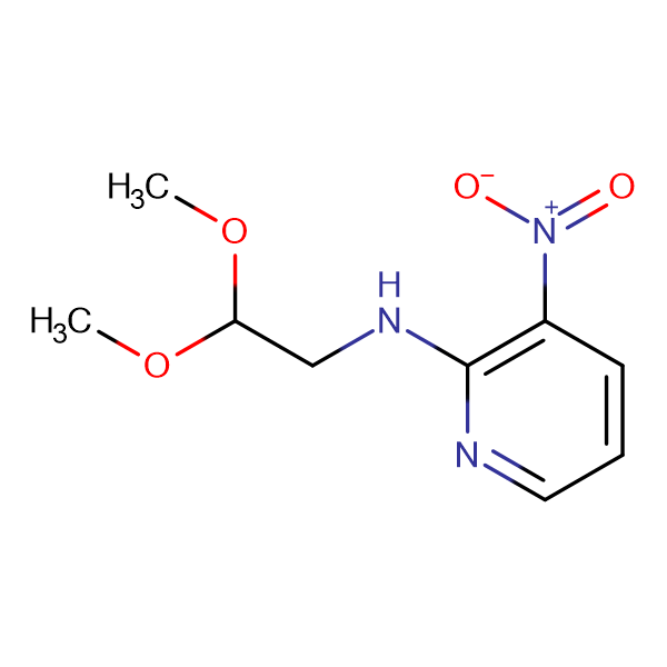 N-(2,2-Dimethoxyethyl)-3-nitropyridin-2-amine