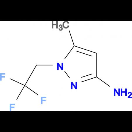 5-Methyl-1-(2,2,2-trifluoroethyl)-1H-pyrazol-3-amine