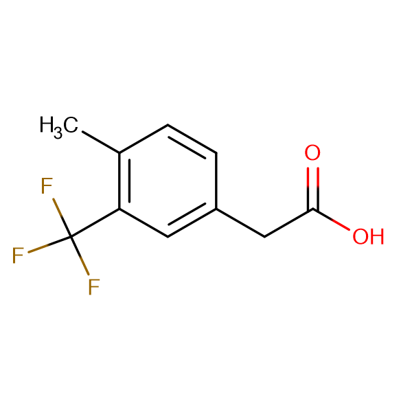 4-Methyl-3-(trifluoromethyl)phenylacetic acid