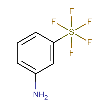 3-Aminophenylsulphur pentafluoride