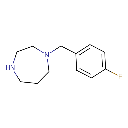 1-(4-Fluorobenzyl)homopiperazine