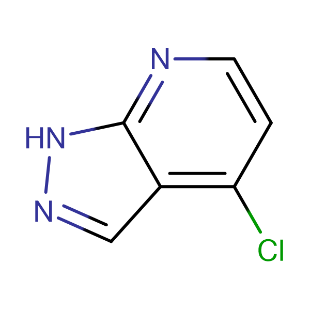 4-Chloro-7-aza-1H-indazole