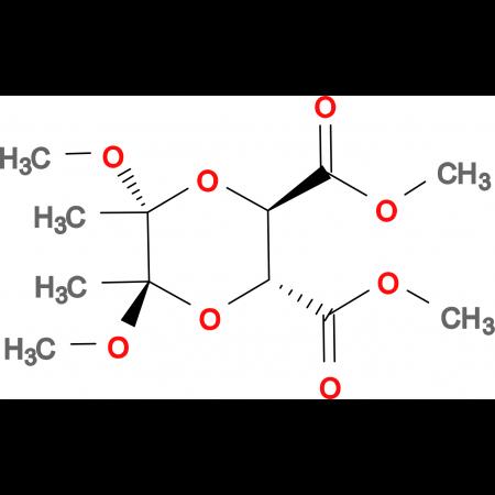 (2R,3R,5R,6R)-Dimethoxy-5,6-dimethyl-[1,4]-dioxane-2,3-dicarboxylic acid dimethyl ester