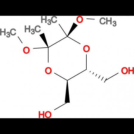 (2S,3S,5R,6R)-2,3-Dimethoxy-2,3-dimethyl-5,6-bis(hydroxymethyl)[1,4]dioxane