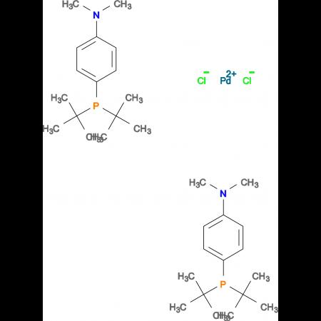 Bis(4-(di-tert-Butylphosphanyl)-N,N-dimethylaniline)-palladium chloride