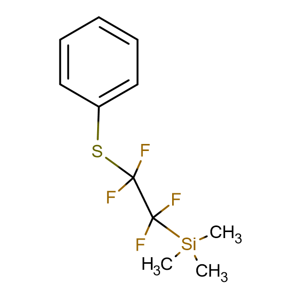 Trimethyl(1,1,2,2-tetrafluoro-2-(phenylthio)ethyl)silane