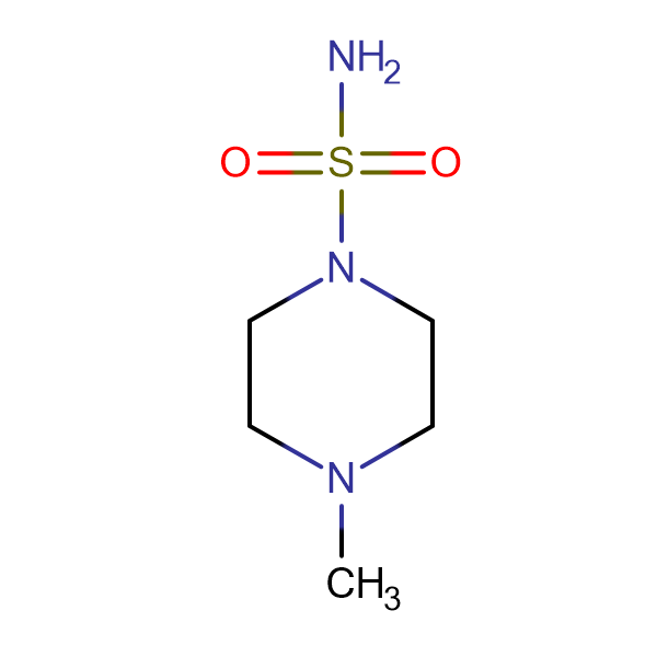 4-Methylpiperazine-1-sulfonamide