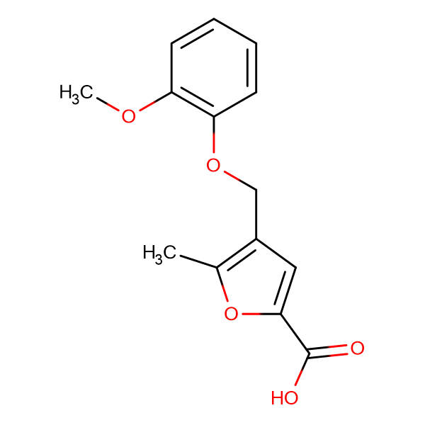 4-(2-Methoxy-phenoxymethyl)-5-methyl-furan-2-carboxylic acid