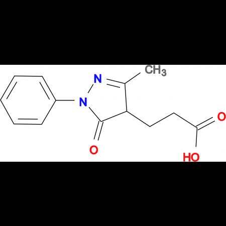 3-(3-Methyl-5-oxo-1-phenyl-4,5-dihydro-1H-pyrazol-4-yl)-propionic acid