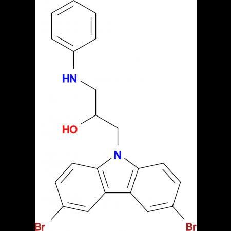 1-(3,6-Dibromo-carbazol-9-yl)-3-phenylamino-propan-2-ol
