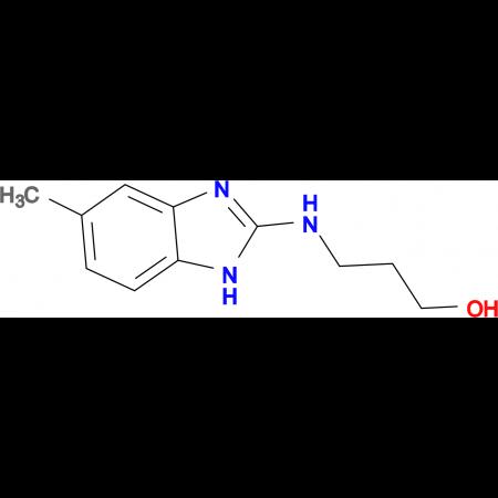 3-(5-Methyl-1H-benzoimidazol-2-ylamino)-propan-1-ol