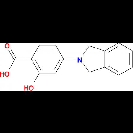 4-(1,3-Dihydro-isoindol-2-yl)-2-hydroxy-benzoic acid