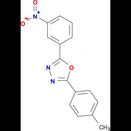 2-(3-Nitro-phenyl)-5-p-tolyl-[1,3,4]oxadiazole