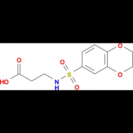 3-(2,3-Dihydro-benzo[1,4]dioxine-6-sulfonylamino)-propionic acid