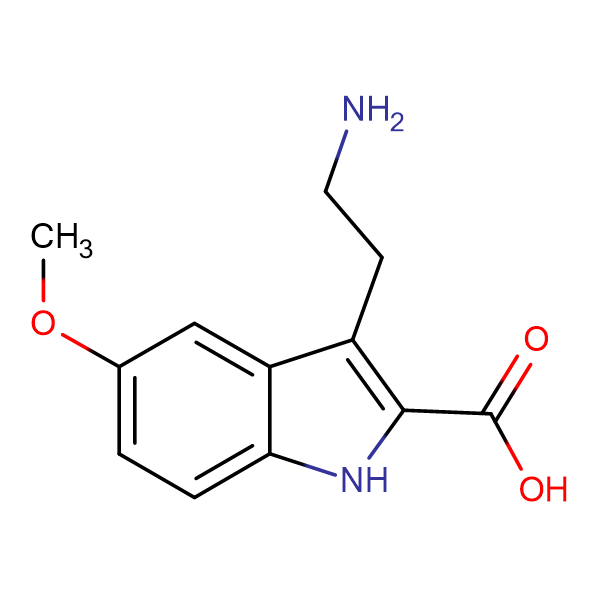 3-(2-Amino-ethyl)-5-methoxy-1H-indole-2-carboxylic acid