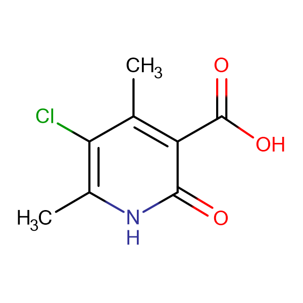 5-Chloro-4,6-dimethyl-2-oxo-1,2-dihydro-pyridine-3-carboxylic acid