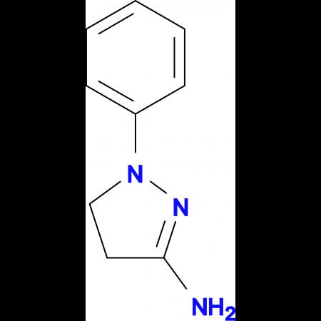 1-Phenyl-4,5-dihydro-1H-pyrazol-3-ylamine