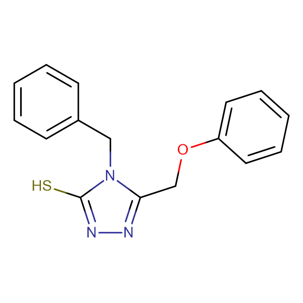 4-Benzyl-5-phenoxymethyl-4H-[1,2,4]triazole-3-thiol
