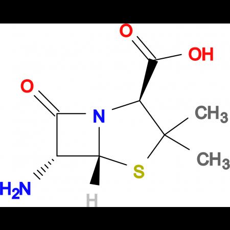 (2S,5R,6R)-6-Amino-3,3-dimethyl-7-oxo-4-thia-1-aza-bicyclo[3.2.0]heptane-2-carboxylic acid