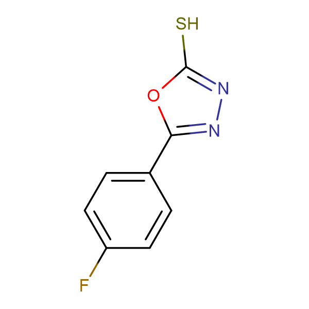5-(4-Fluoro-phenyl)-[1,3,4]oxadiazole-2-thiol