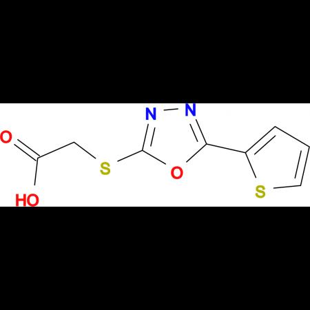(5-Thiophen-2-yl-[1,3,4]oxadiazol-2-ylsulfanyl)-acetic acid