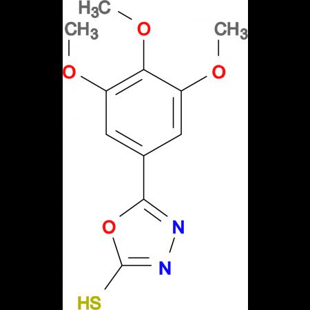 5-(3,4,5-Trimethoxy-phenyl)-[1,3,4]oxadiazole-2-thiol