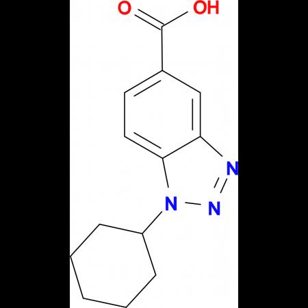 1-Cyclohexyl-1H-benzotriazole-5-carboxylic acid