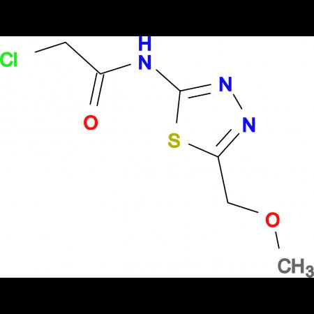 2-Chloro-N-(5-methoxymethyl-[1,3,4]thiadiazol-2-yl)-acetamide