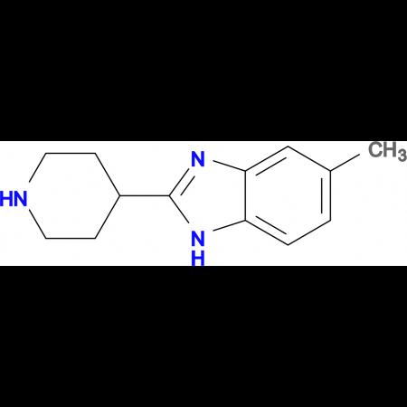 5-Methyl-2-piperidin-4-yl-1H-benzoimidazole