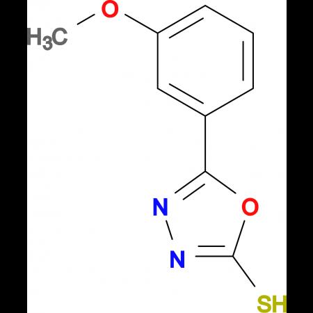 5-(3-Methoxy-phenyl)-[1,3,4]oxadiazole-2-thiol