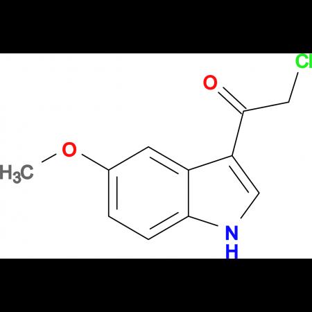 2-Chloro-1-(5-methoxy-1H-indol-3-yl)-ethanone