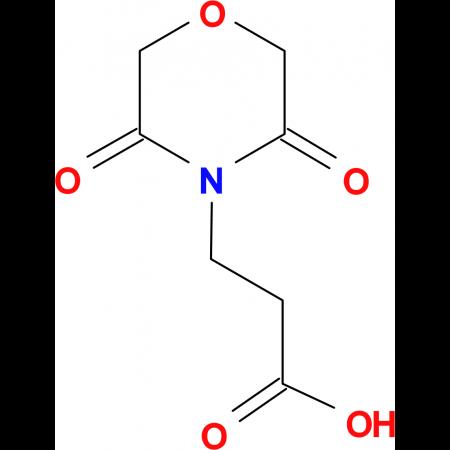 3-(3,5-Dioxo-morpholin-4-yl)-propionic acid
