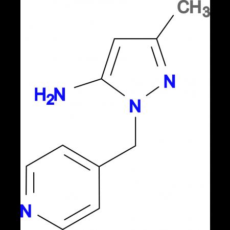 5-Methyl-2-pyridin-4-ylmethyl-2H-pyrazol-3-ylamine