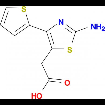 (2-Amino-4-thiophen-2-yl-thiazol-5-yl)-acetic acid
