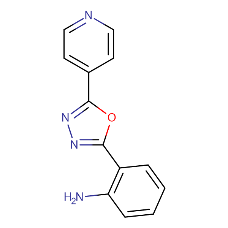 2-(5-Pyridin-4-yl-[1,3,4]oxadiazol-2-yl)-phenylamine