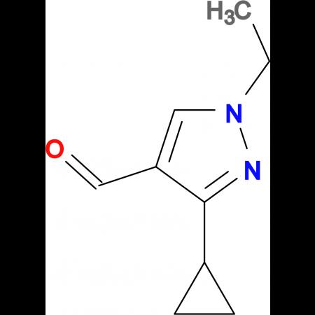 3-Cyclopropyl-1-ethyl-1H-pyrazole-4-carbaldehyde