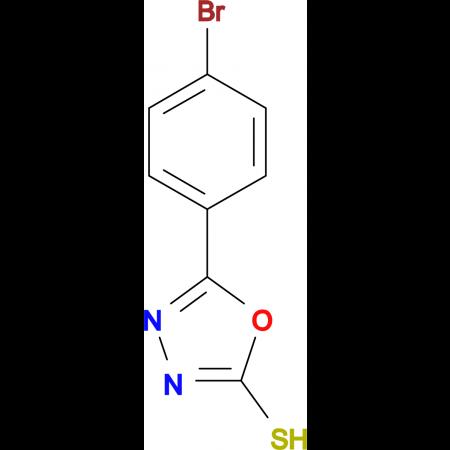 5-(4-Bromo-phenyl)-[1,3,4]oxadiazole-2-thiol