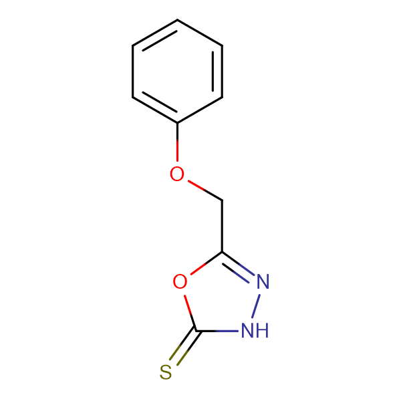 5-Phenoxymethyl-3H-[1,3,4]oxadiazole-2-thione