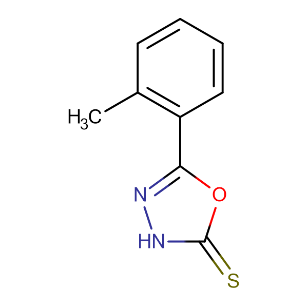 5-o-Tolyl-3H-[1,3,4]oxadiazole-2-thione
