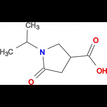 1-Isopropyl-5-oxo-pyrrolidine-3-carboxylic acid