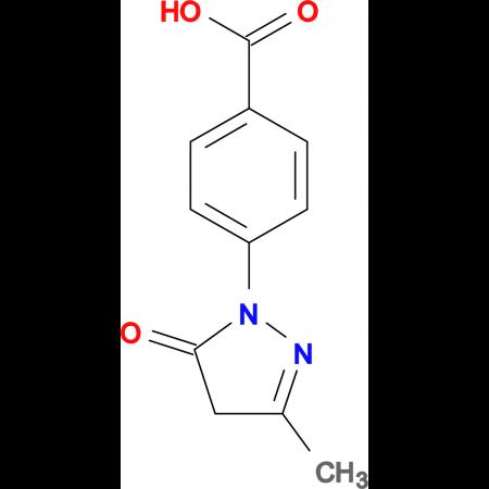 4-(3-Methyl-5-oxo-4,5-dihydro-pyrazol-1-yl)-benzoic acid