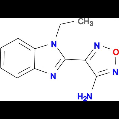 4-(1-Ethyl-1H-benzimidazol-2-yl)-1,2,5-oxadiazol-3-amine