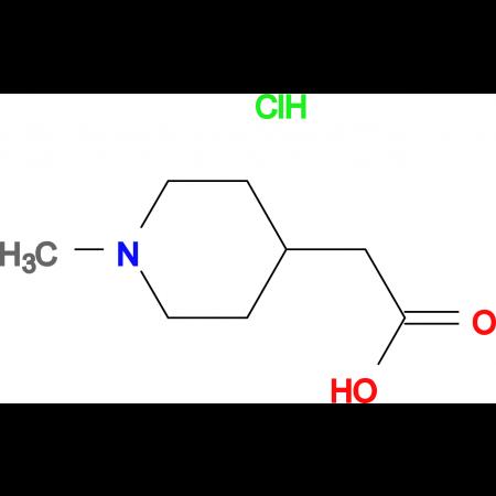 (1-Methyl-piperidin-4-yl)-acetic acid hydrochloride