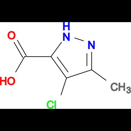 4-Chloro-3-methyl-1H-pyrazole-5-carboxylic acid