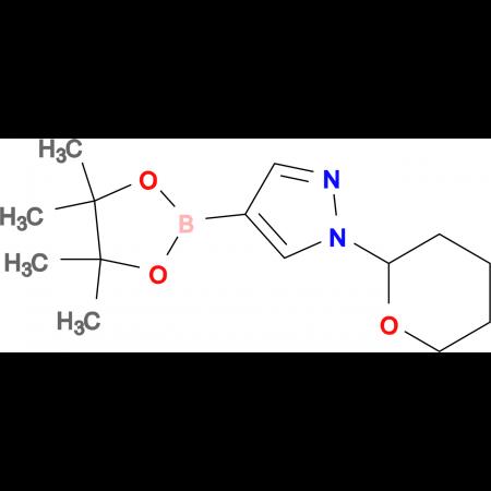 1-(Tetrahydro-2H-pyran-2-yl)-4-(4,4,5,5-tetramethyl-1,3,2-dioxaborlan-2-yl-)-1H-pyrazole