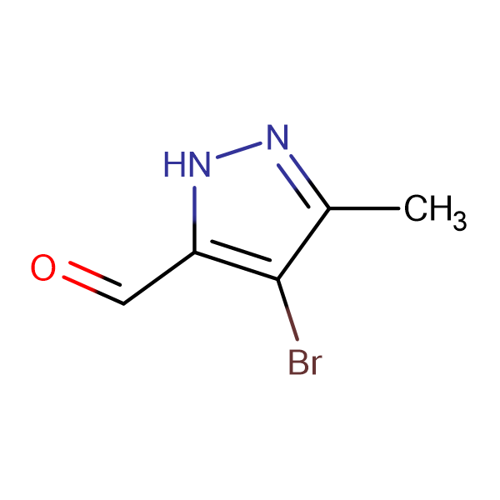 4-Bromo-3-methyl-1H-pyrazol-5-carbaldehyde