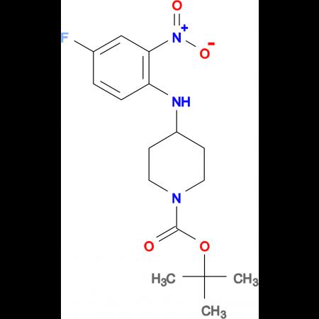 tert-Butyl 4-(4-fluoro-2-nitrophenylamino)piperidine-1-carboxylate