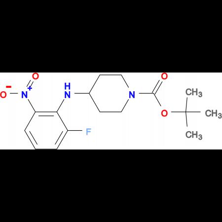 tert-Butyl 4-(2-fluoro-6-nitrophenylamino)piperidine-1-carboxylate