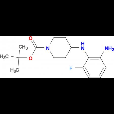 tert-Butyl 4-(2-amino-6-fluorophenylamino)piperidine-1-carboxylate